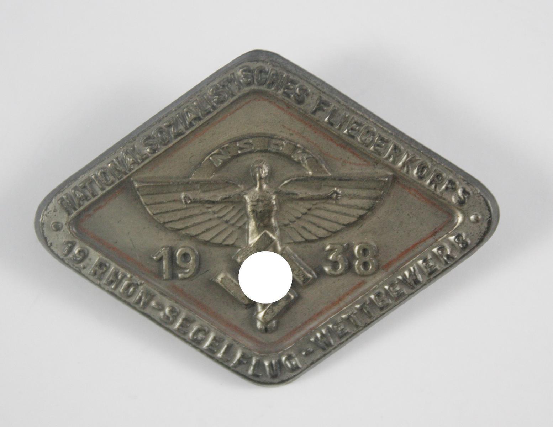 Abzeichen: NSFK, 19. Rhön-Segelflug-Wettbewerb 1938