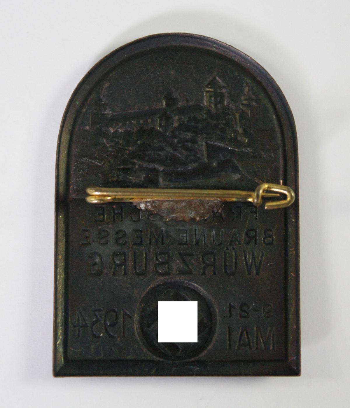 Abzeichen, Fränkische Braune Messe, Würzburg 1934-2