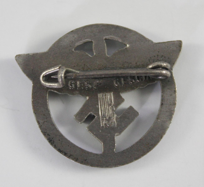 Anstecker, Förderer des Nationalsozialistischen Fliegerkorps ( F-NSFK )-2