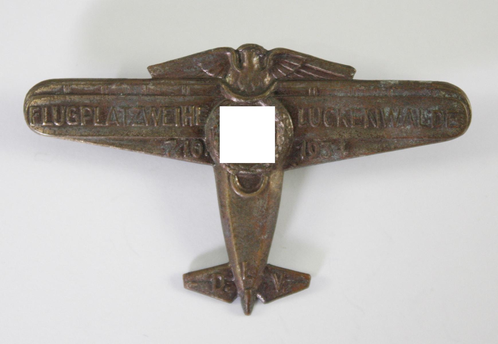 Veranstaltungsabzeichen, Flugplatzweihe Luckenwalde 1934