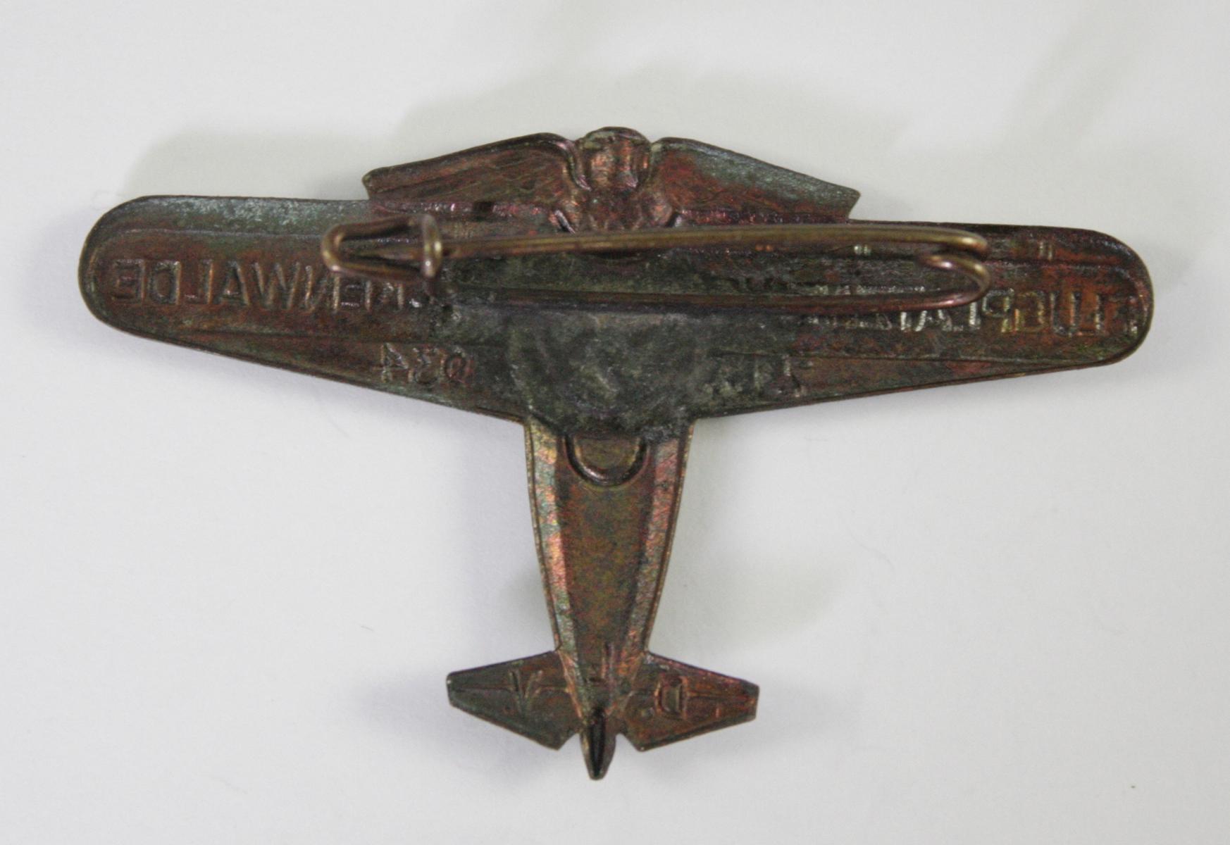 Veranstaltungsabzeichen, Flugplatzweihe Luckenwalde 1934-2