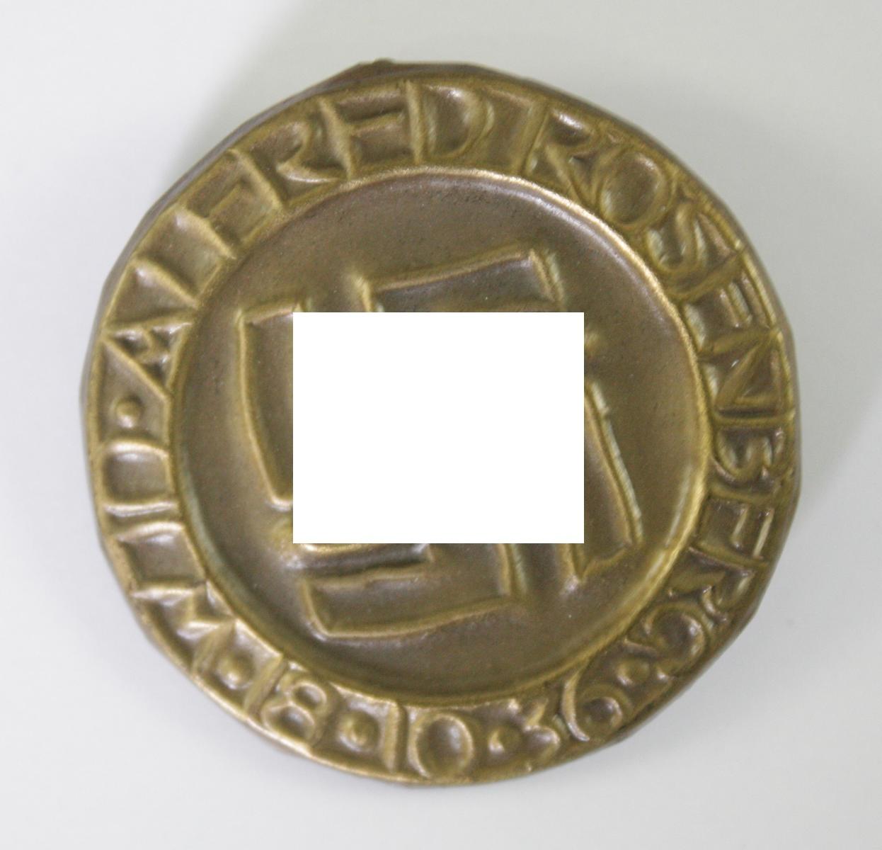 Abzeichen, Alfred Rosenberg, Ulm 1936