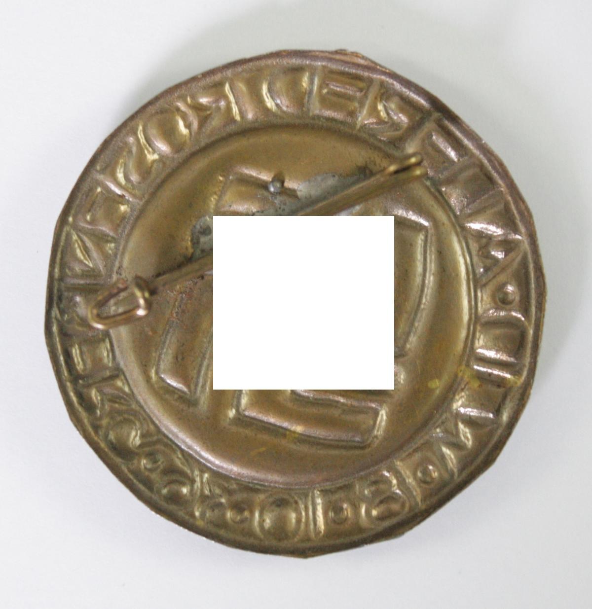Abzeichen, Alfred Rosenberg, Ulm 1936-2