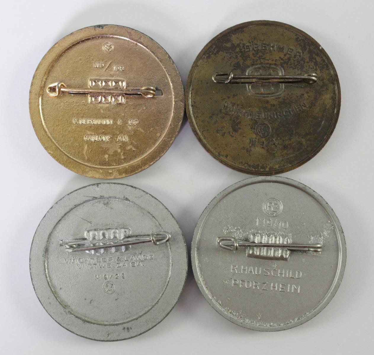 4 Abzeichen Reichsparteitag 1939 Nürnberg-2