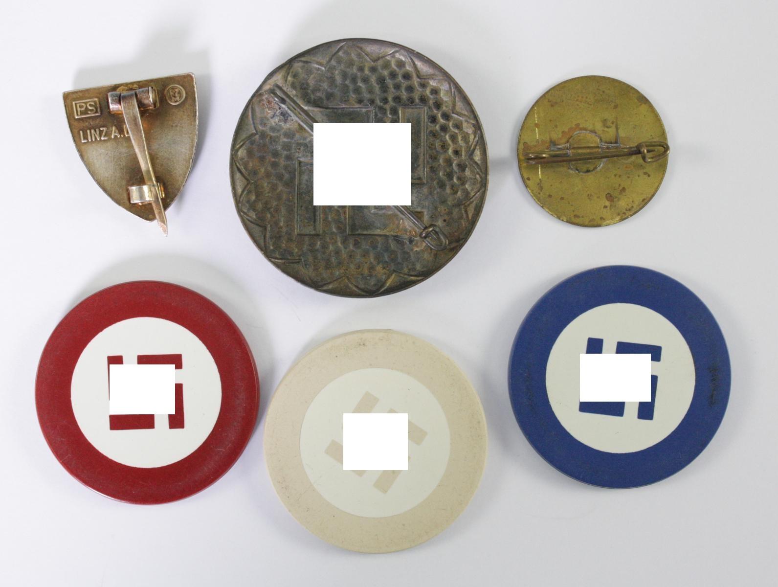 Diverse Memorabilia Thema Hakenkreuz-2