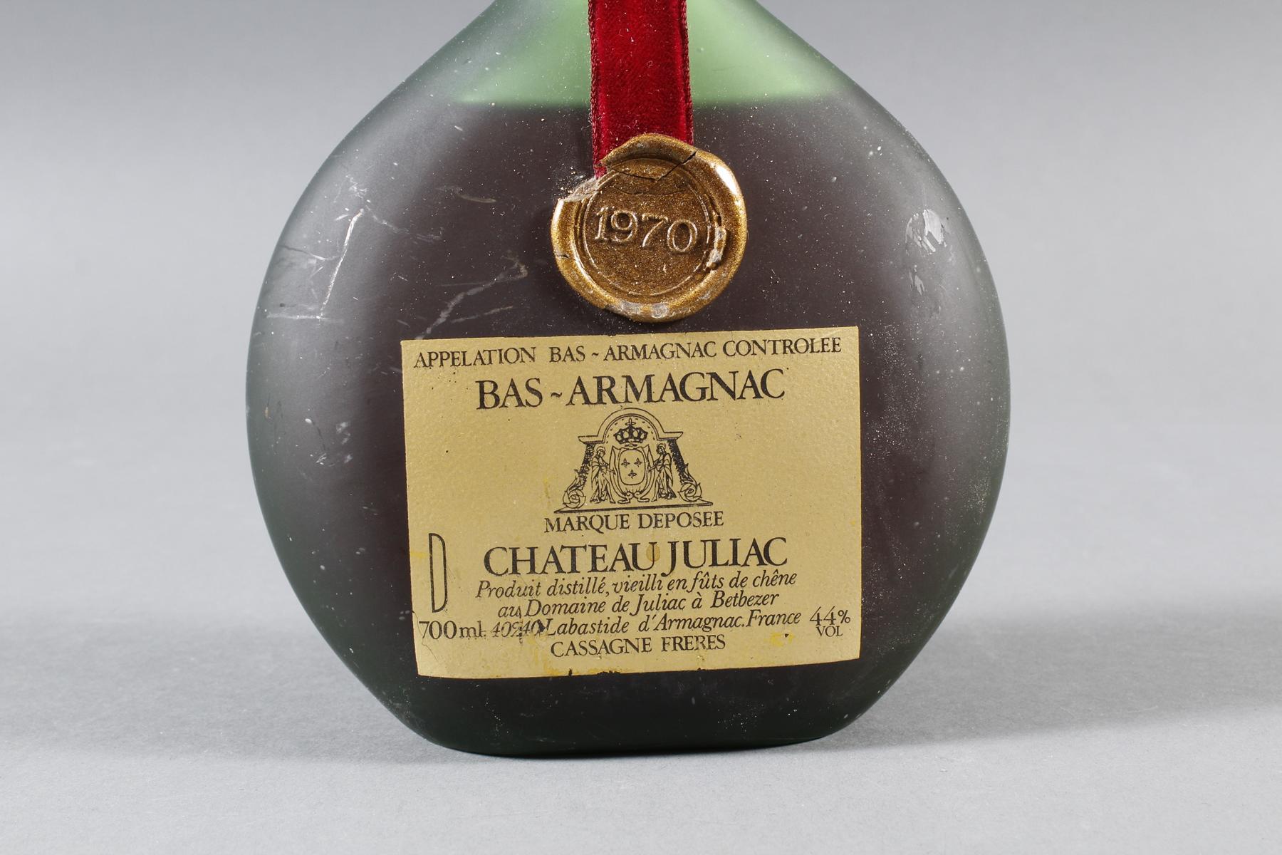 Bas-Armagnac, Chateau Juliac, 1970-2