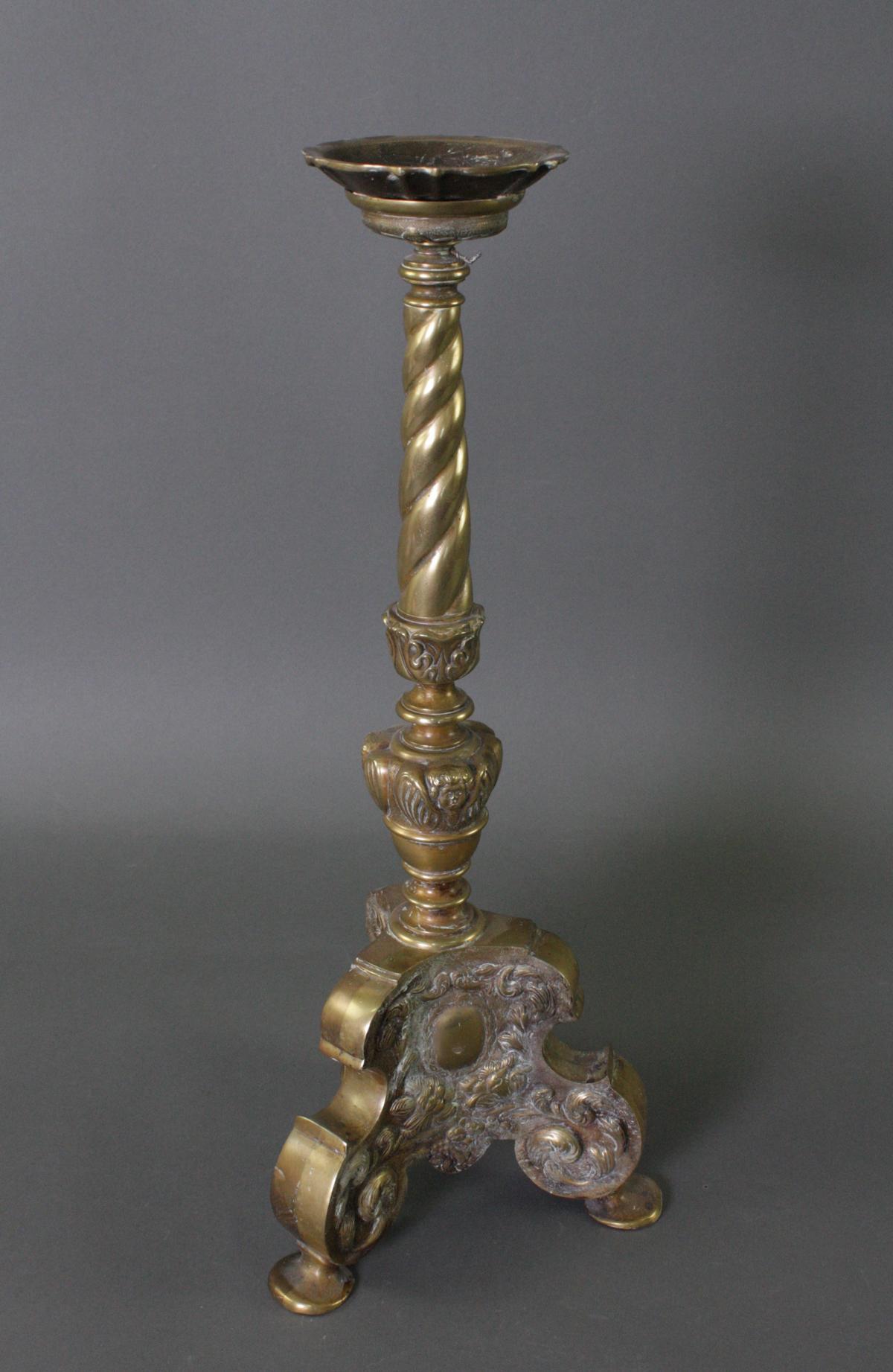 Altarleuchter Kerzenständer, Barockstil