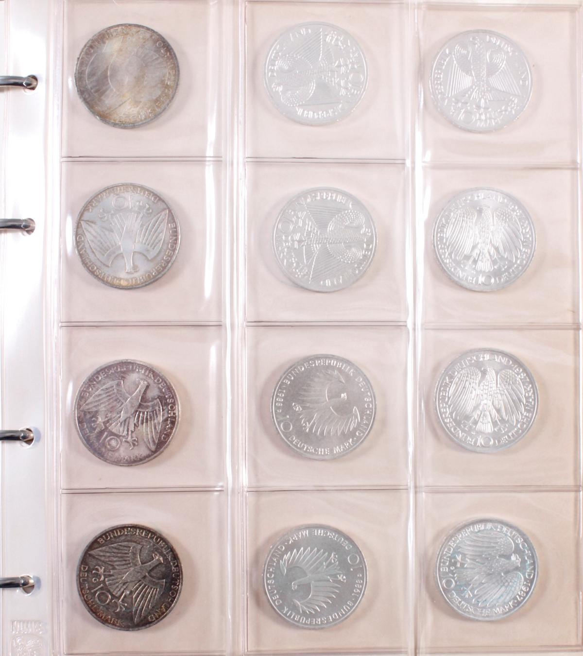 Münzsammlung BRD und alle Welt mit einer Goldmünze-2