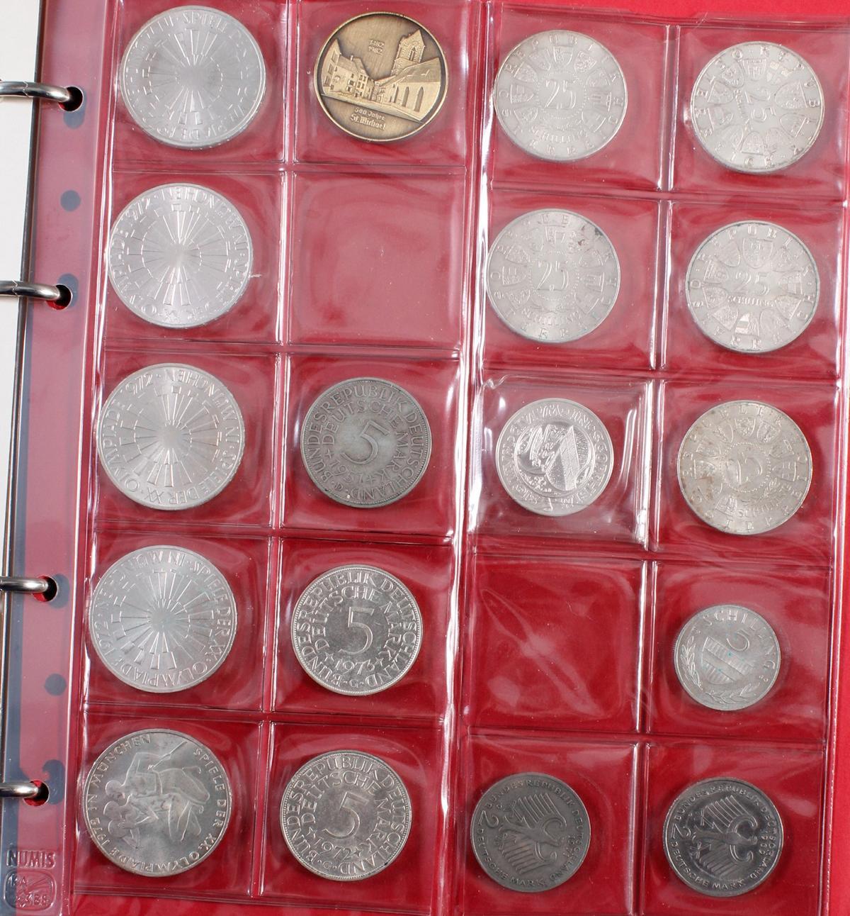 Münzsammlung BRD und alle Welt mit einer Goldmünze-5