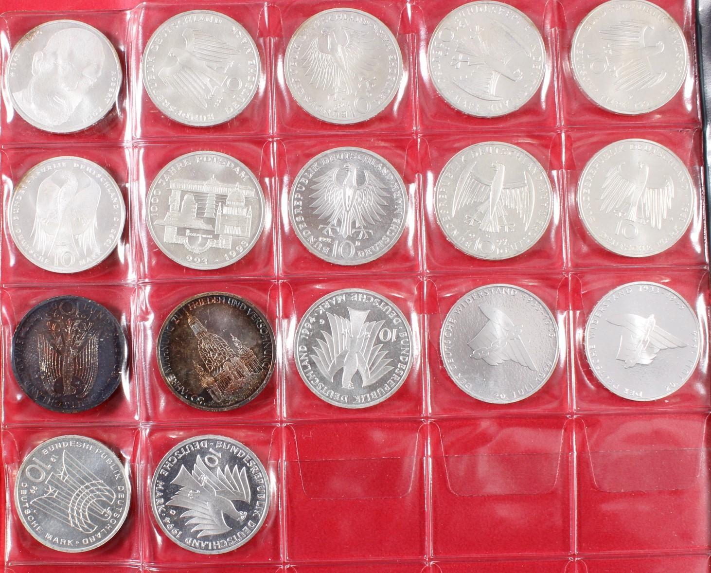 Münzsammlung BRD und alle Welt mit einer Goldmünze-9