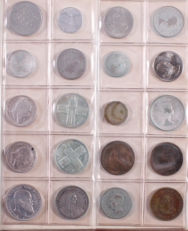 Münzsammlung BRD und alle Welt mit einer Goldmünze-10