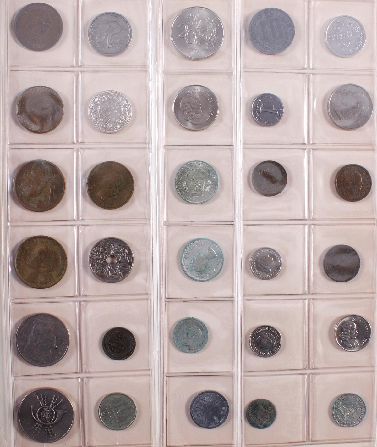 Münzsammlung BRD und alle Welt mit einer Goldmünze-11