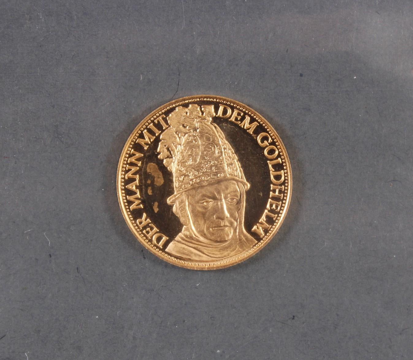 Münzsammlung BRD und alle Welt mit einer Goldmünze-13