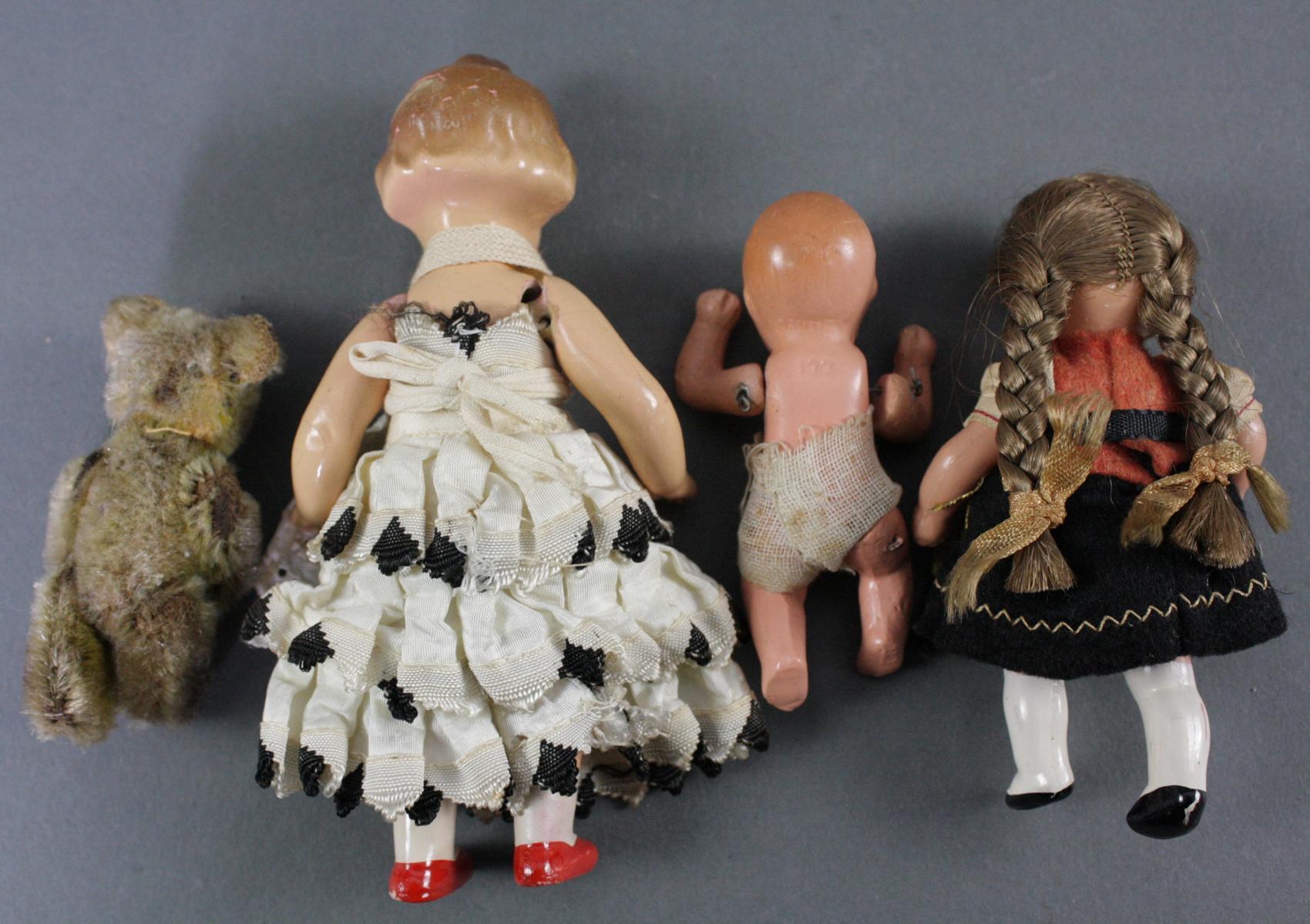 12 sehr alte Puppen, 1. Hälfte 20. Jahrhundert oder älter-7