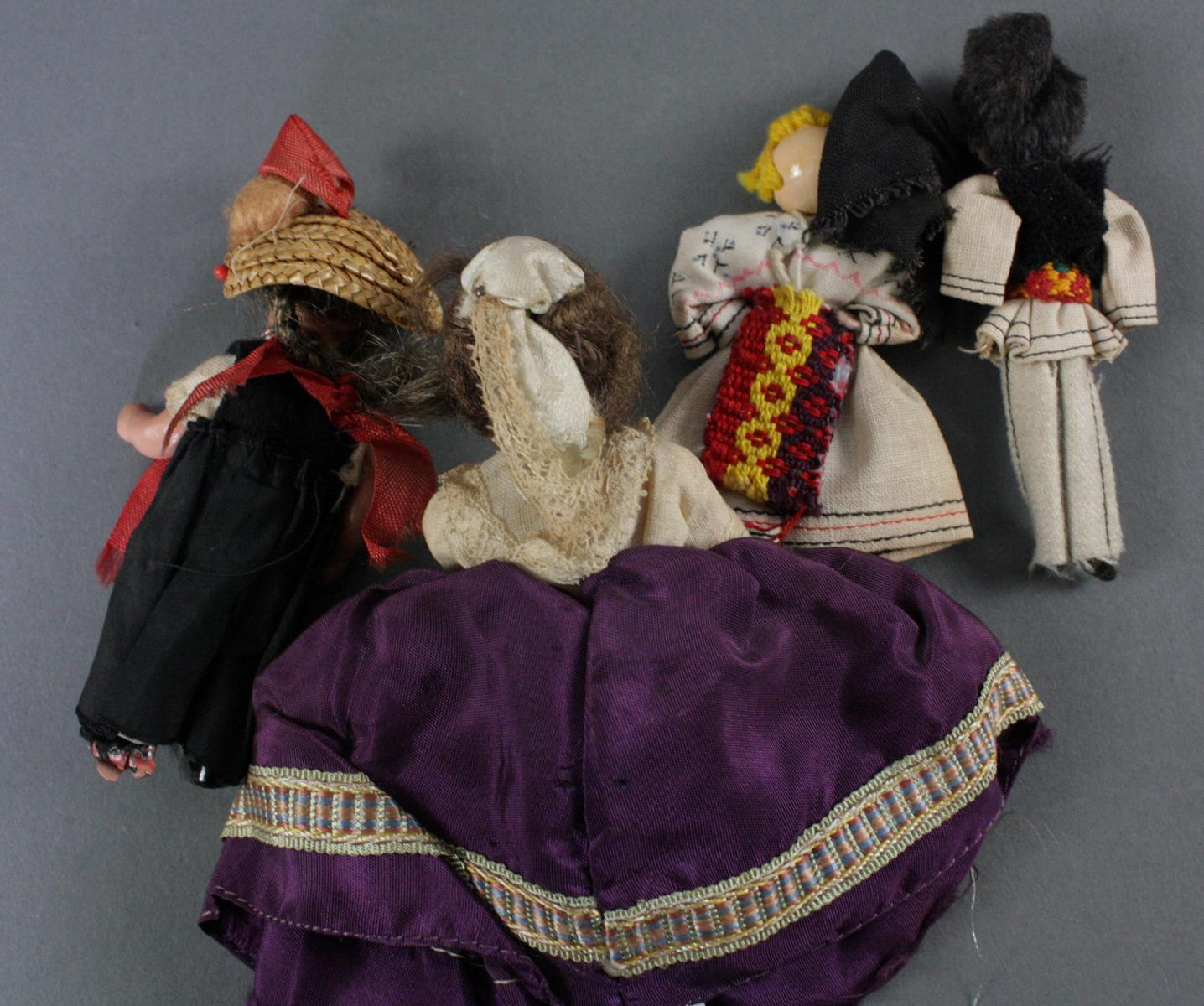 12 sehr alte Puppen, 1. Hälfte 20. Jahrhundert oder älter-13