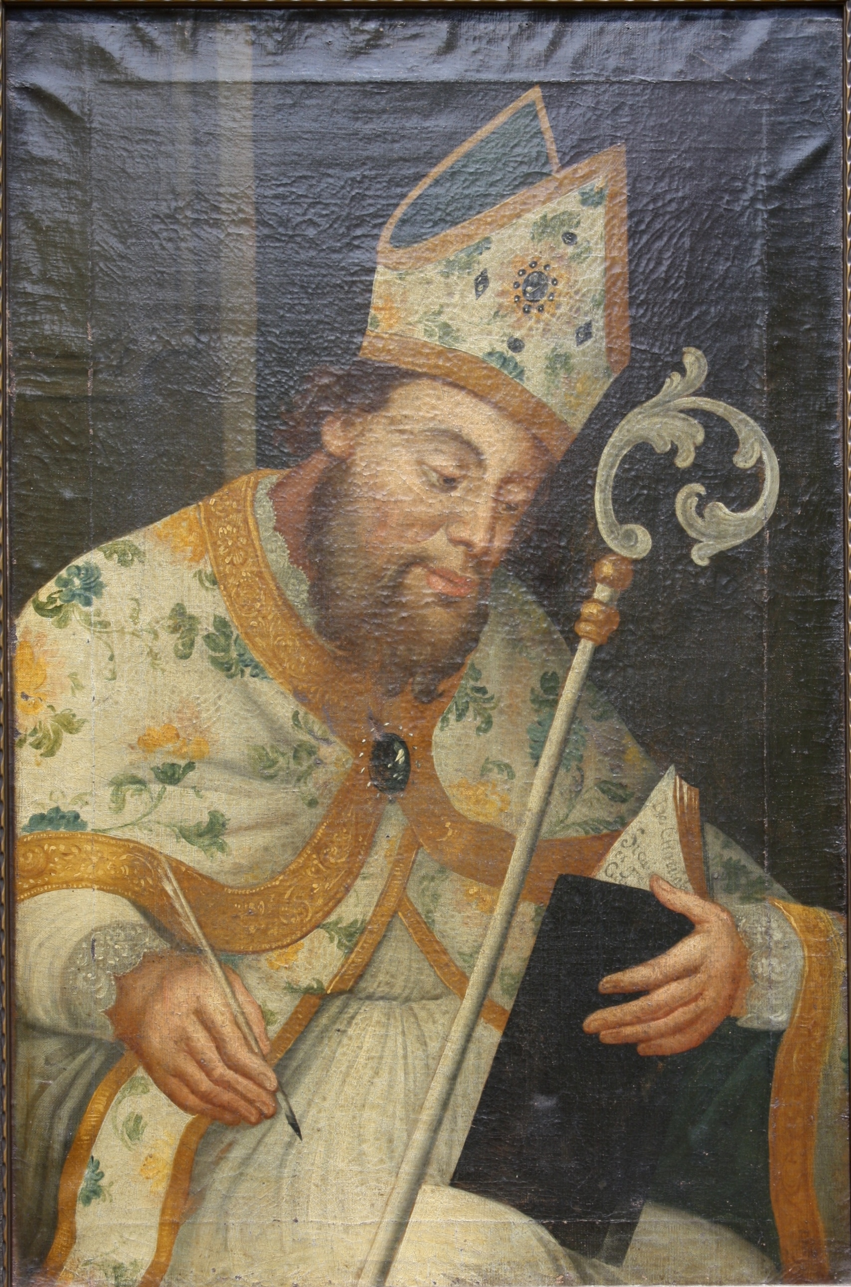 Heiliger Ambrosius, wohl 17. Jahrhundert-2