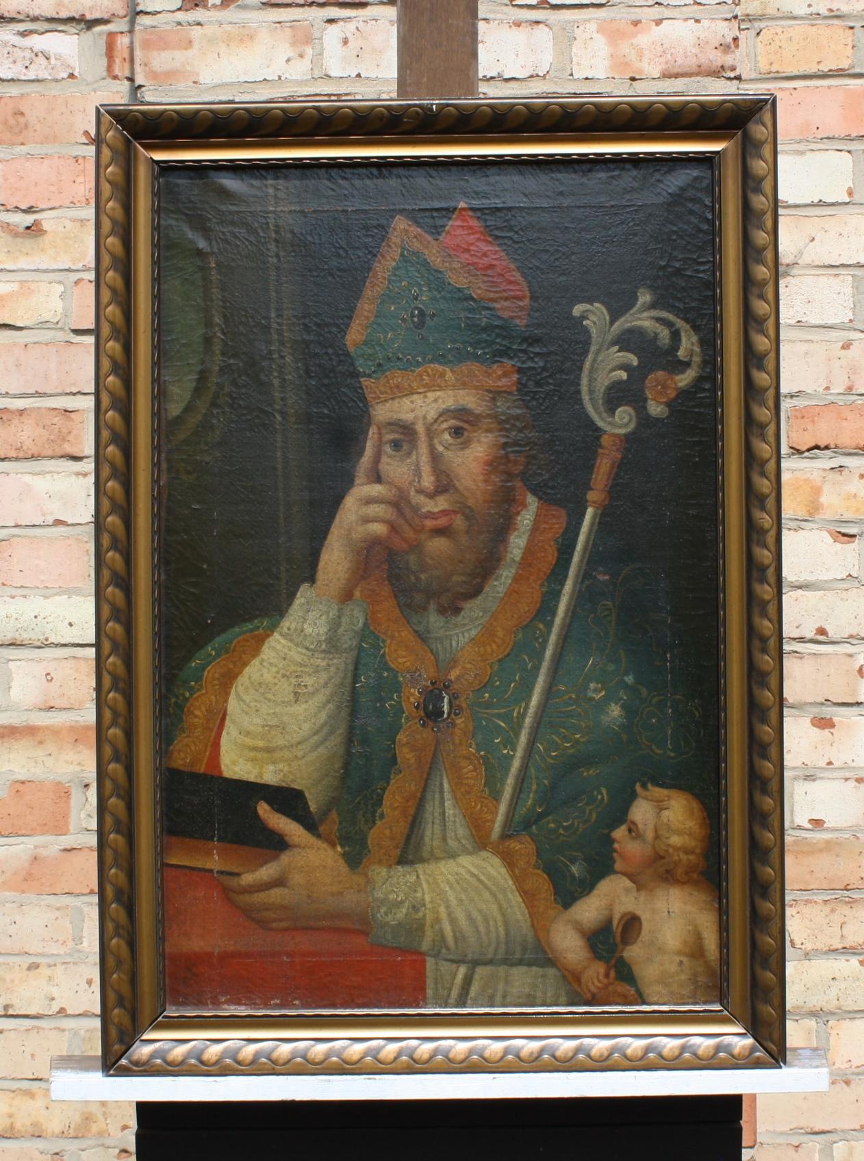 Heiliger Augustinus, wohl 17. Jahrhundert