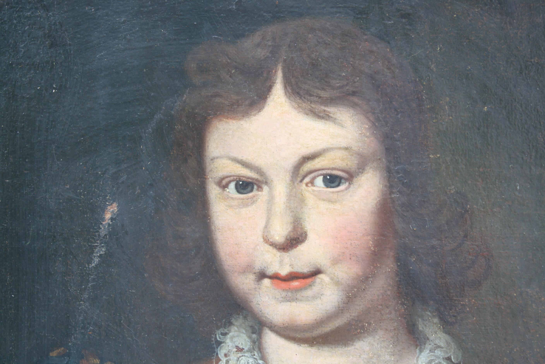 Unbekannter Künstler, Portrait wohl Ludwig XV-2