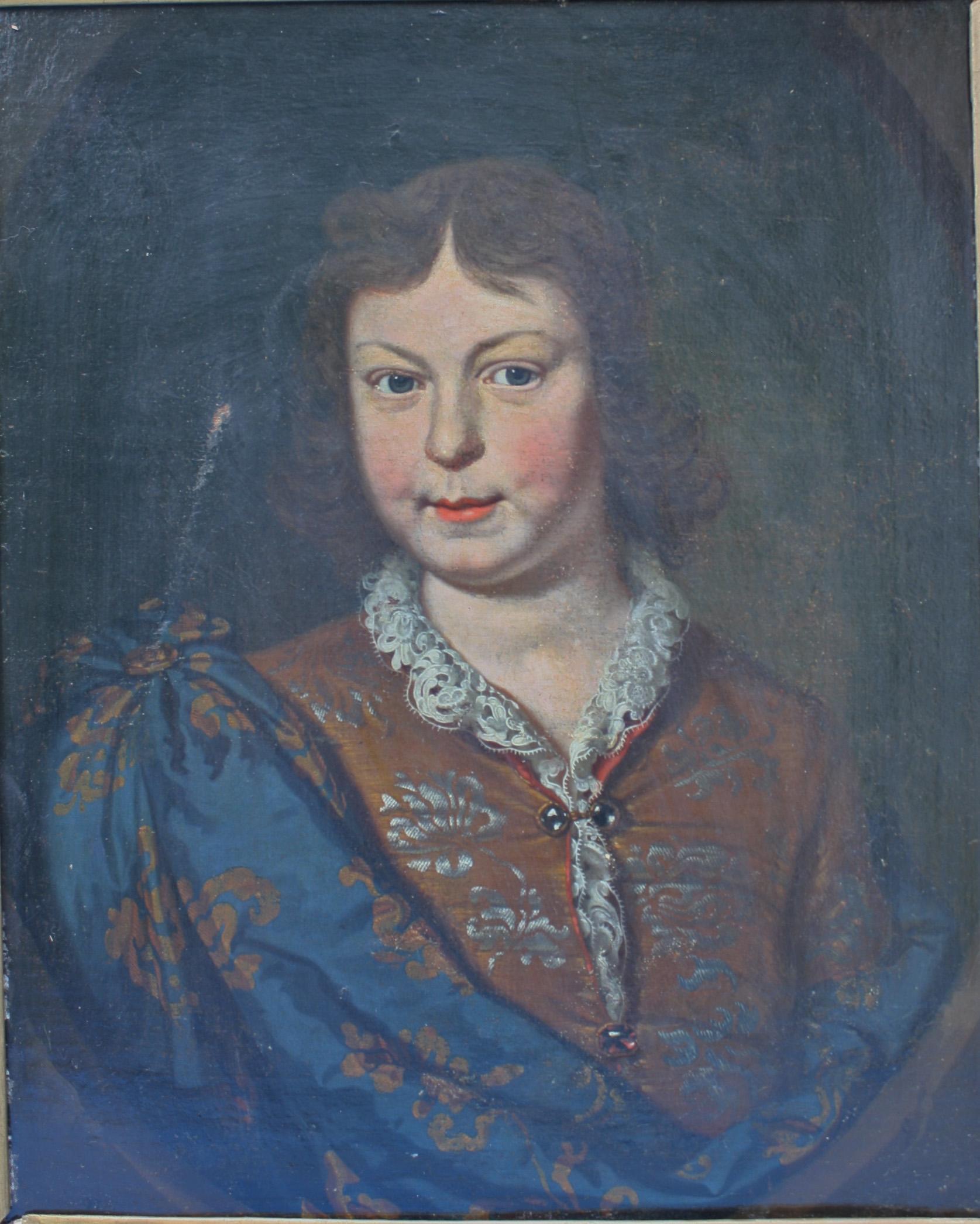 Unbekannter Künstler, Portrait wohl Ludwig XV-3