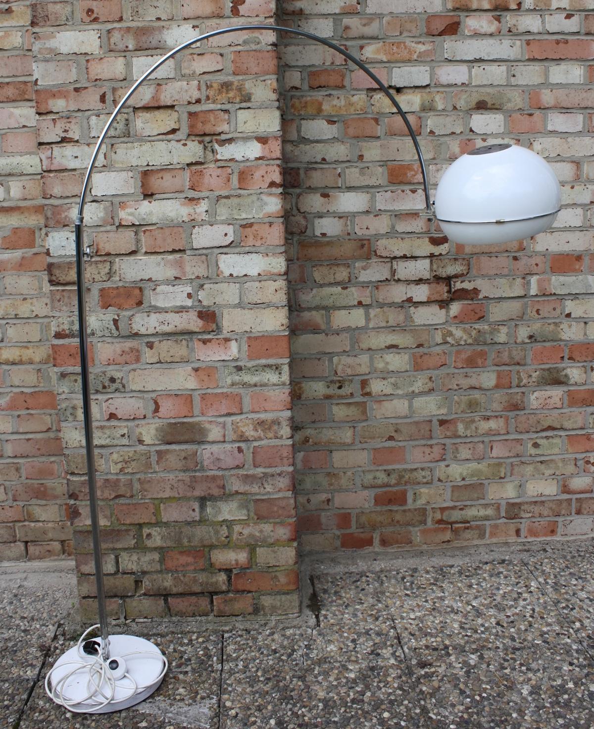 Designer-Bogenlampe 70er Jahre