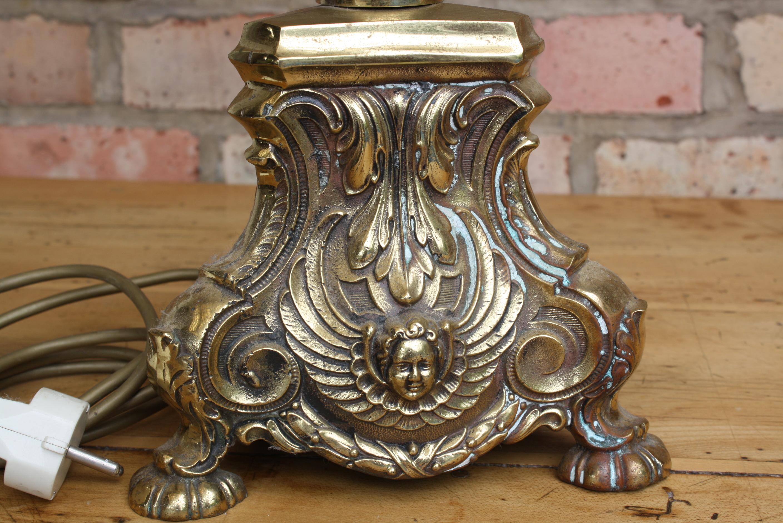 Altarleuchter bzw. Kristall Lampe, 19. Jahrhundert-2