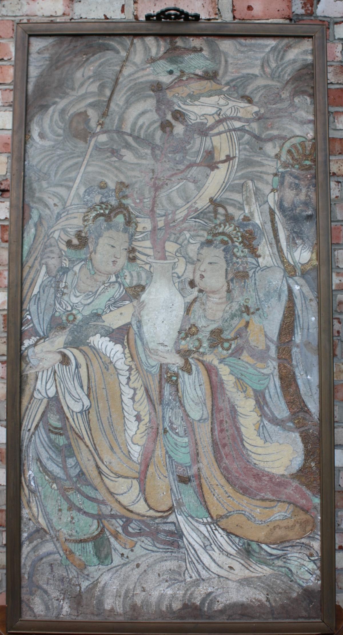 Antikes Gemälde, Asien 20. Jh.