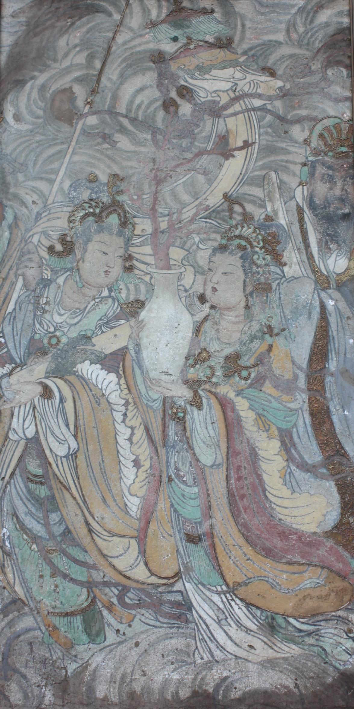 Antikes Gemälde, Asien 20. Jh.-2