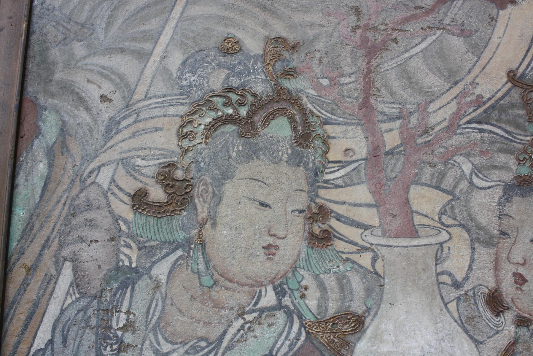 Antikes Gemälde, Asien 20. Jh.-3