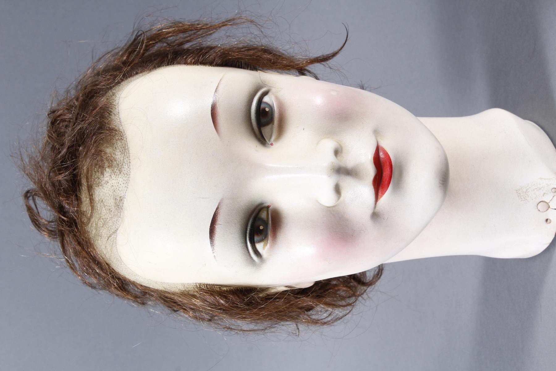 Schaufenster Büste für Damenhüte ,Deutsch um 1940-1950-4