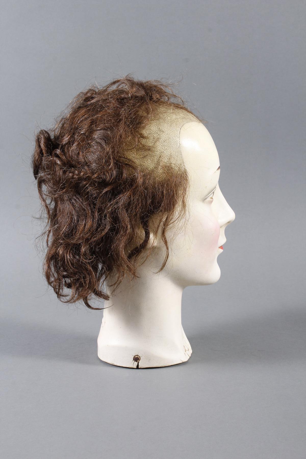 Schaufenster Büste für Damenhüte ,Deutsch um 1940-1950-6