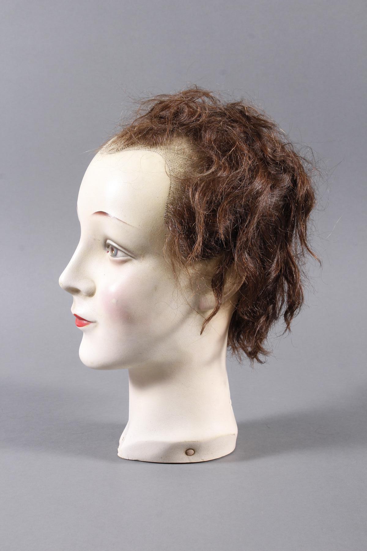 Schaufenster Büste für Damenhüte ,Deutsch um 1940-1950-9