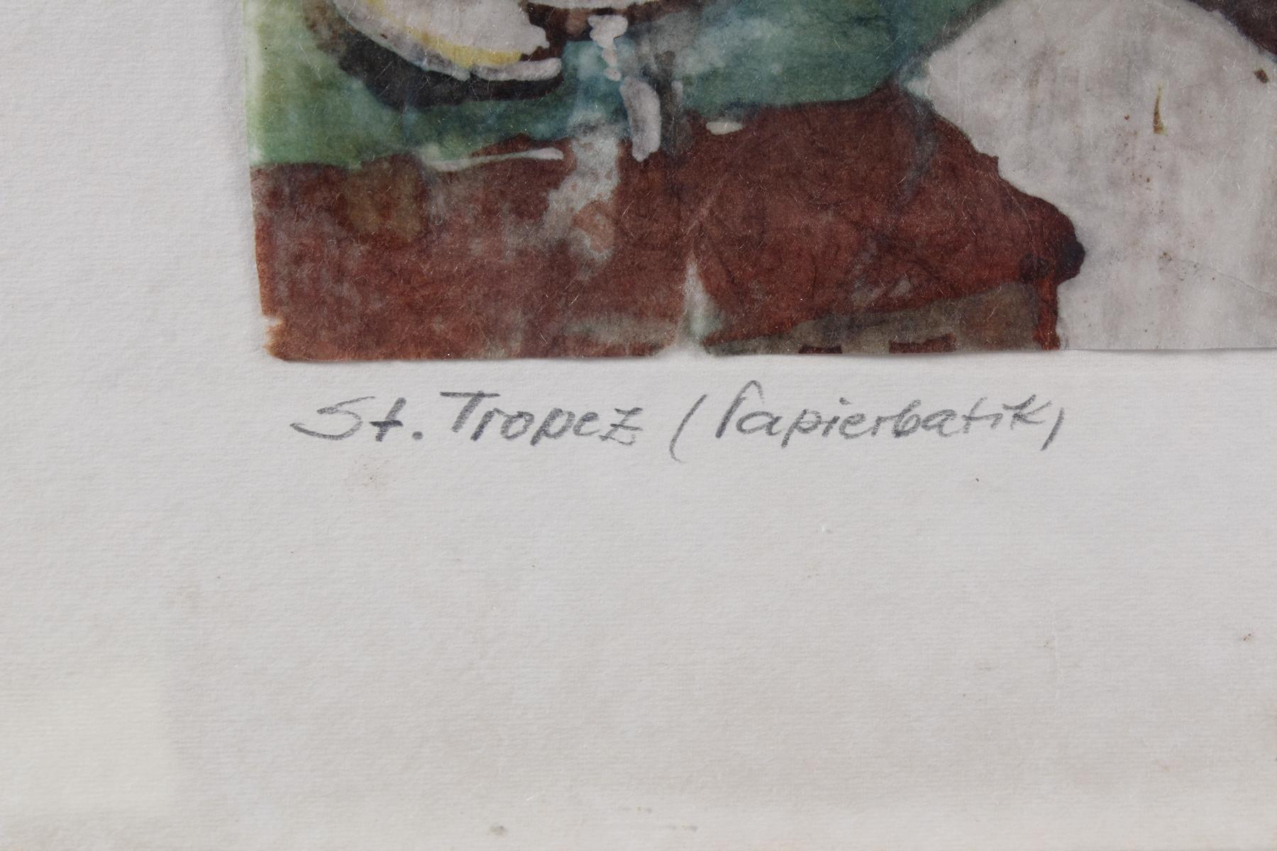 Eugen Pfeffer, St. Tropez, 1962-3
