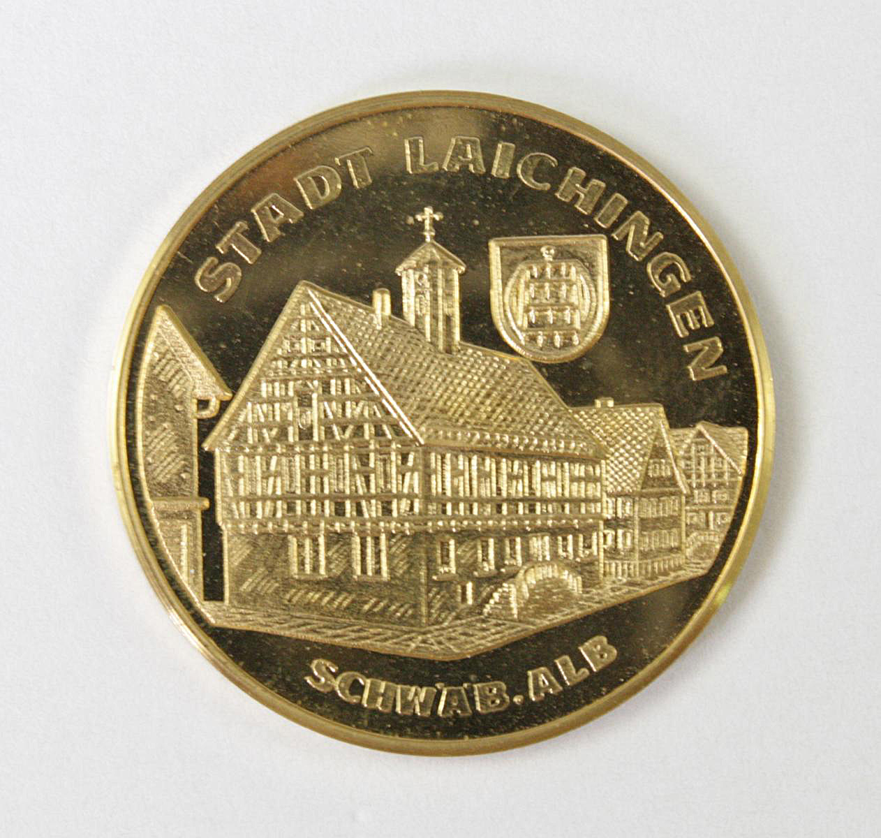 Goldmedaille, Stadt Laichingen