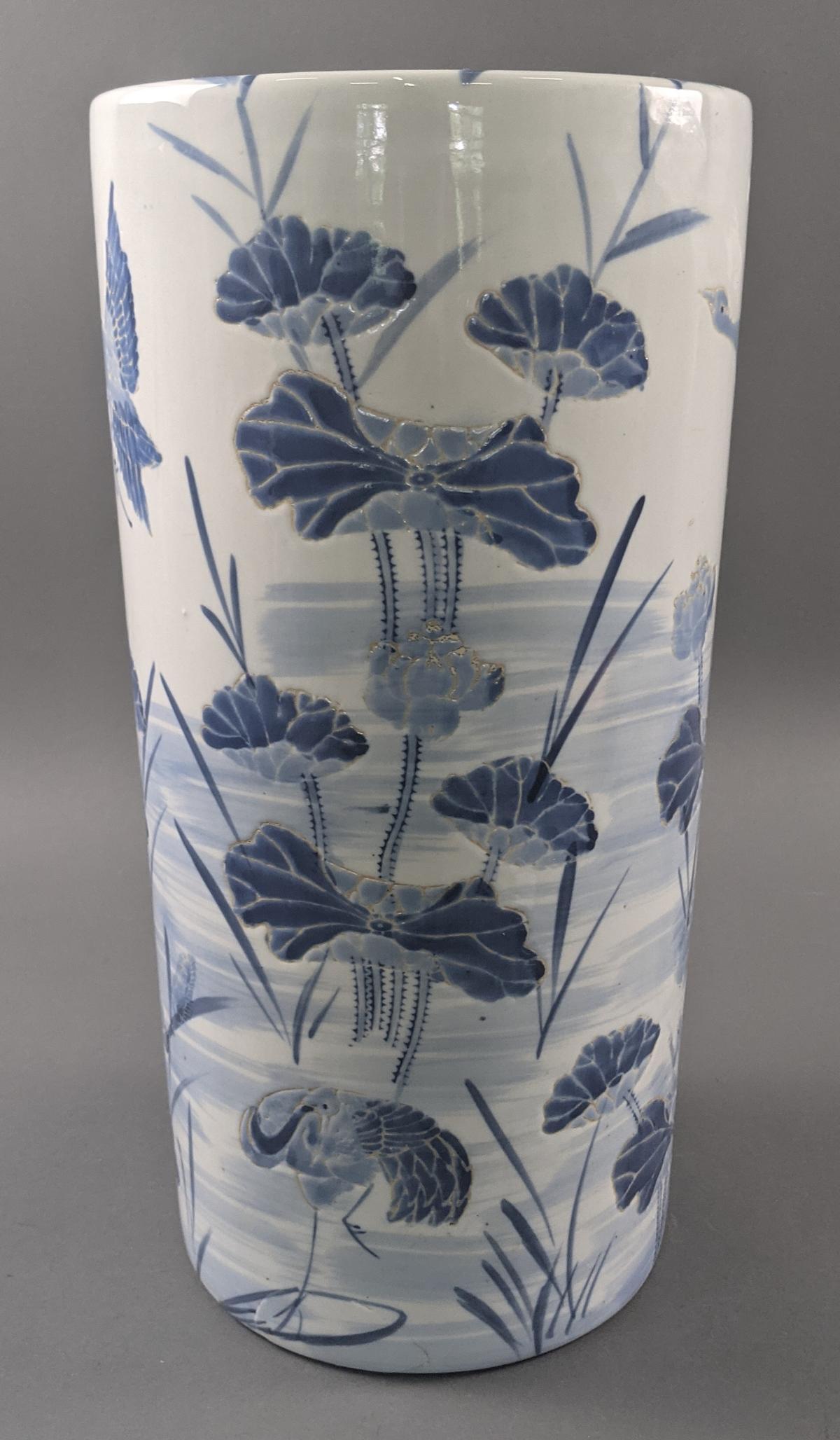 Große Keramik Bodenvase um 1900-2