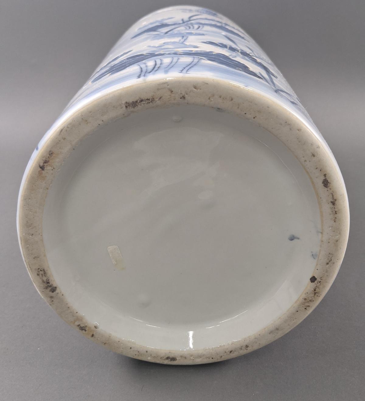 Große Keramik Bodenvase um 1900-4