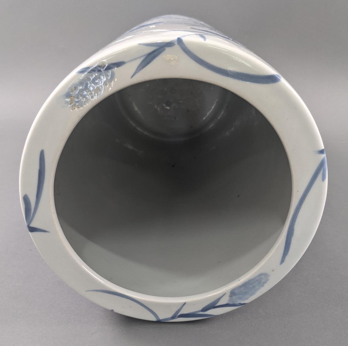 Große Keramik Bodenvase um 1900-5
