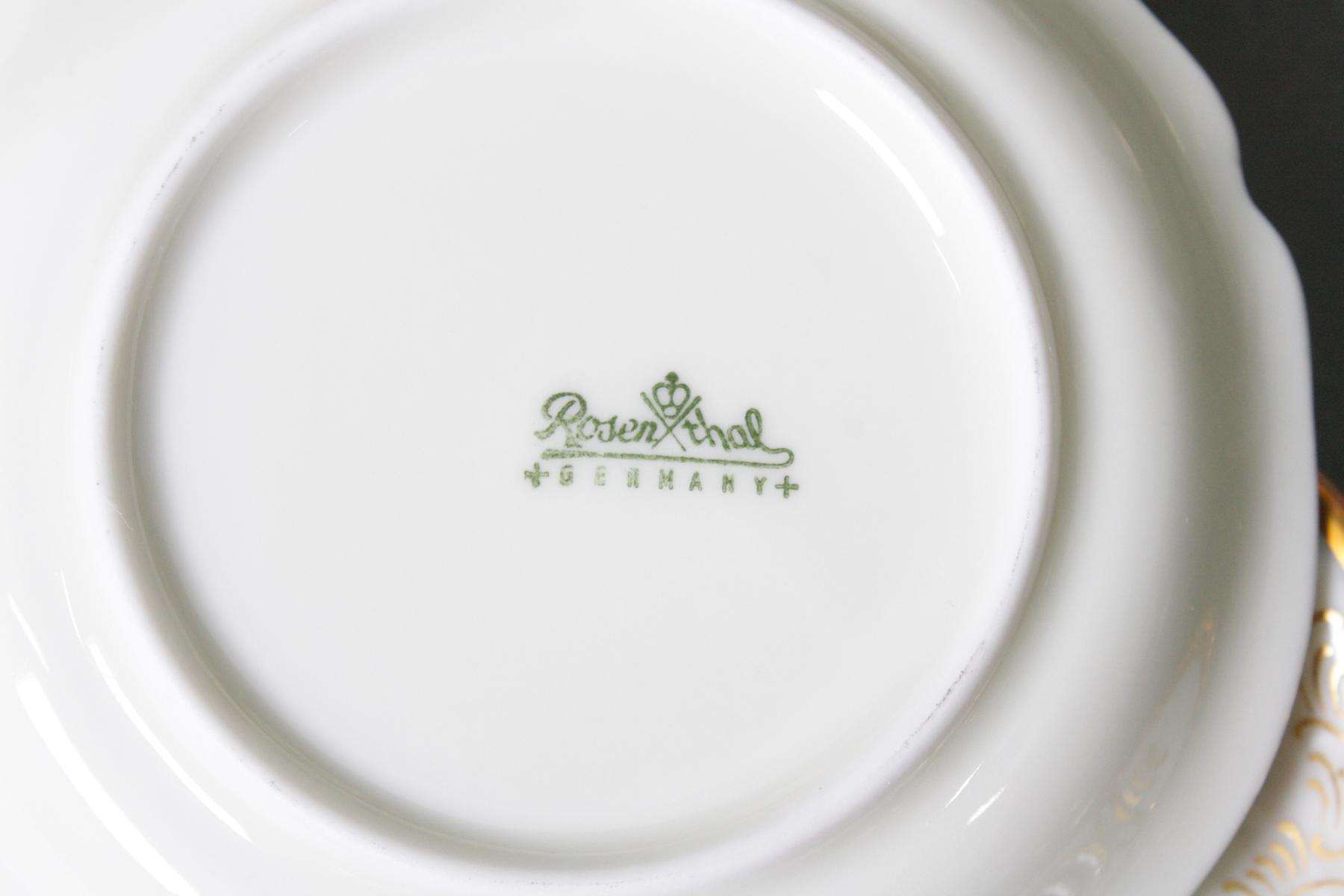 Kaffeeservice für 12 Personen, Rosenthal Sanssouci Diplomat-2