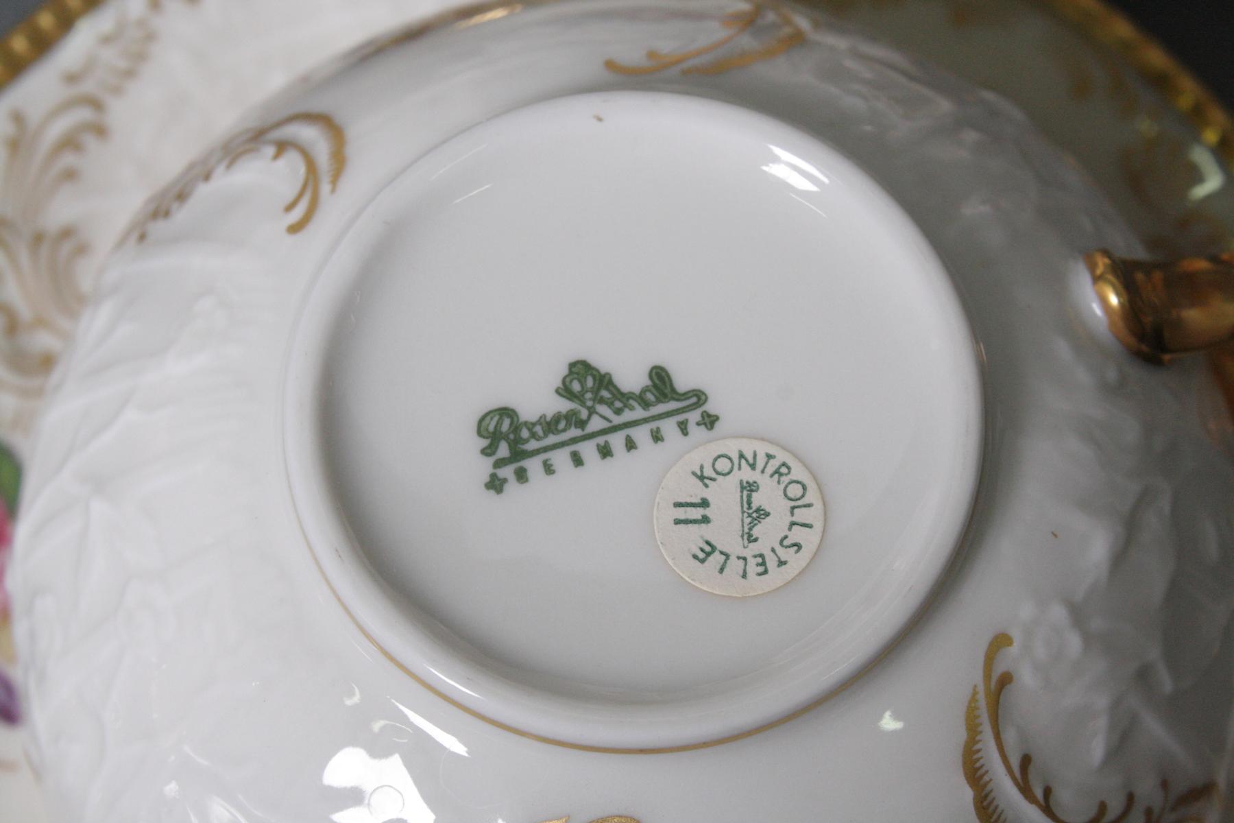 Teeservice für 12 Personen, Rosenthal Sanssouci Diplomat-2