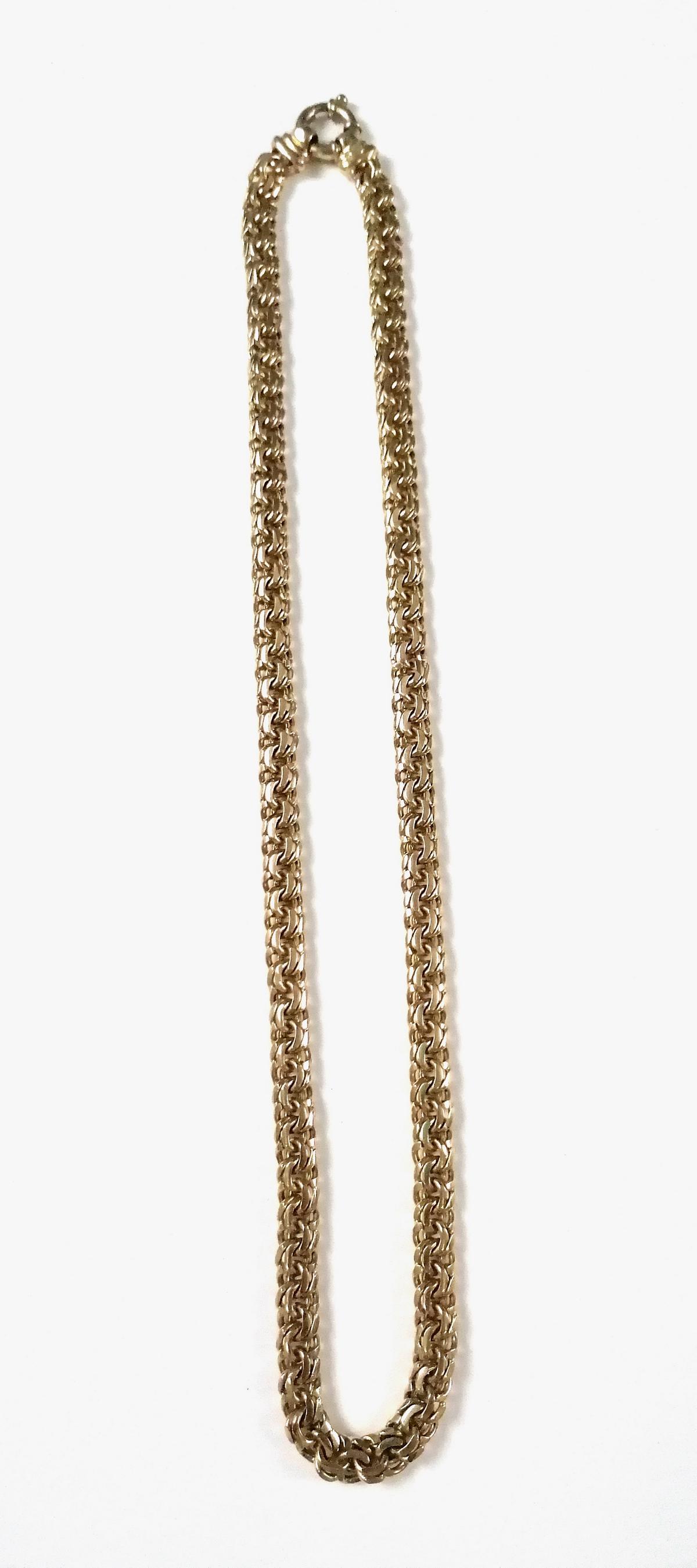 9 Karat Gelbgold Halskette