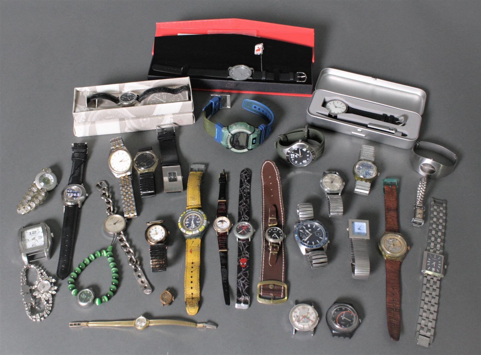 Sammlung Armbanduhren