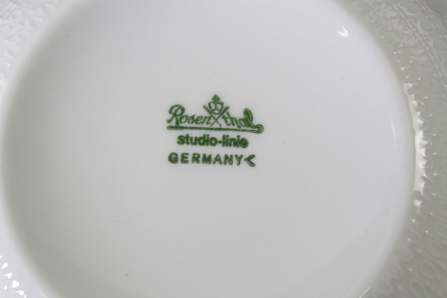 Essservice Rosenthal Romanze in Weiß Form 11250-2