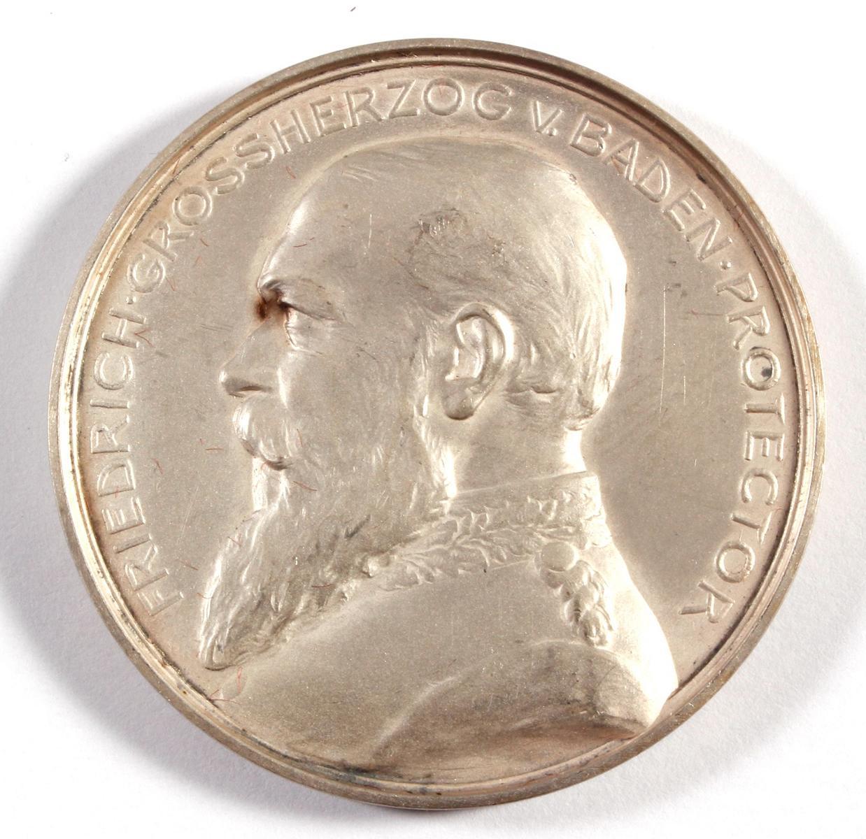 Medaille, XVIII. Verbandsschiessen Heidelberg 1901