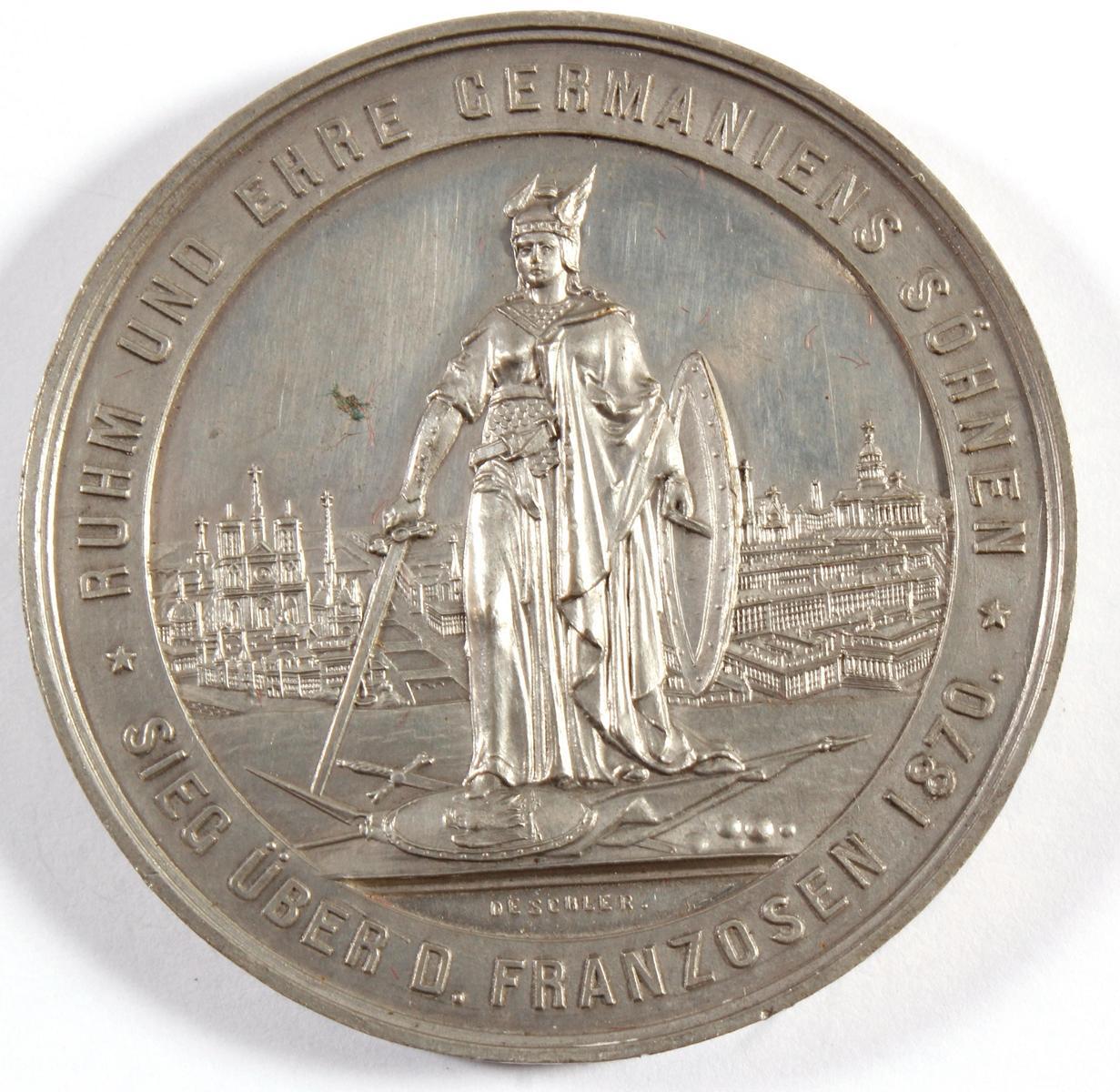 Siegesmedaille Preußen über Frankreich 1870