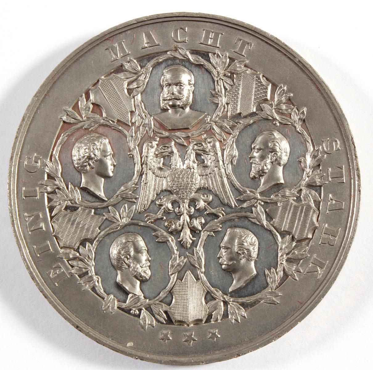Siegesmedaille Preußen über Frankreich 1870-2