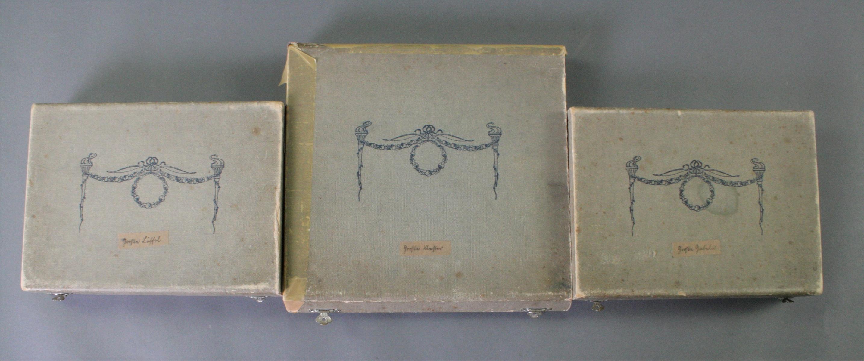 Versilbertes Besteck für 12 Personen um 1900, 90er Auflage-3