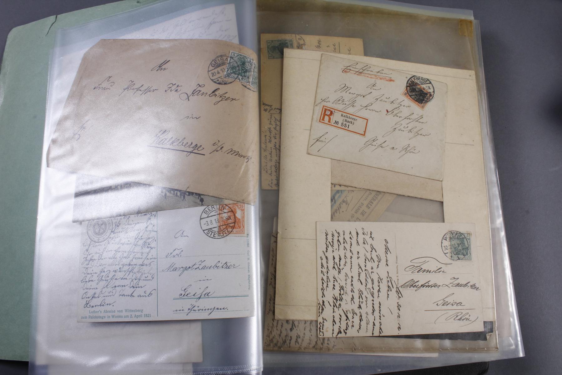 Briefmarkensammlung, Deutsches Reich – Europa – Übersee – Nominale-3
