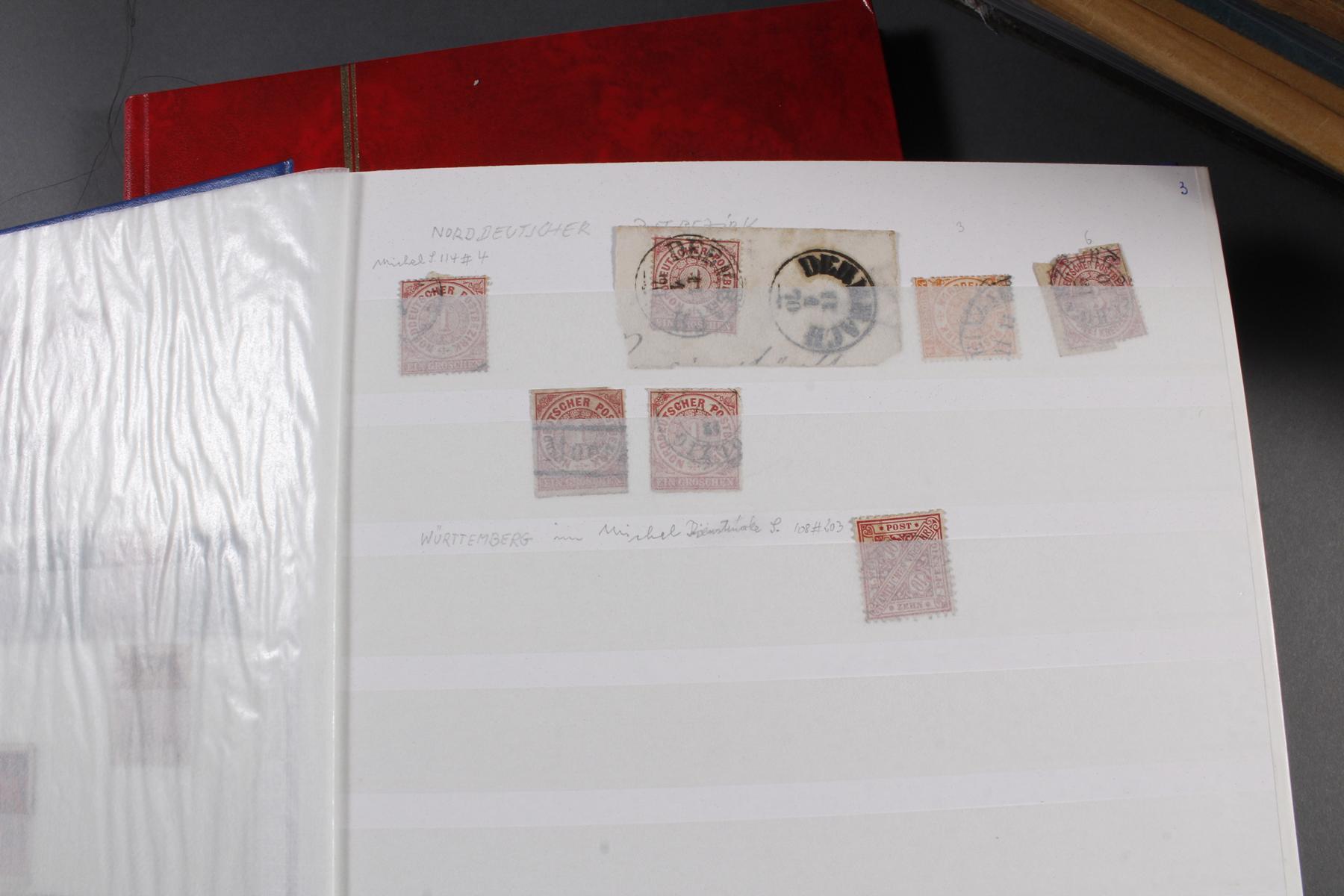 Briefmarkensammlung, Deutsches Reich – Europa – Übersee – Nominale-7