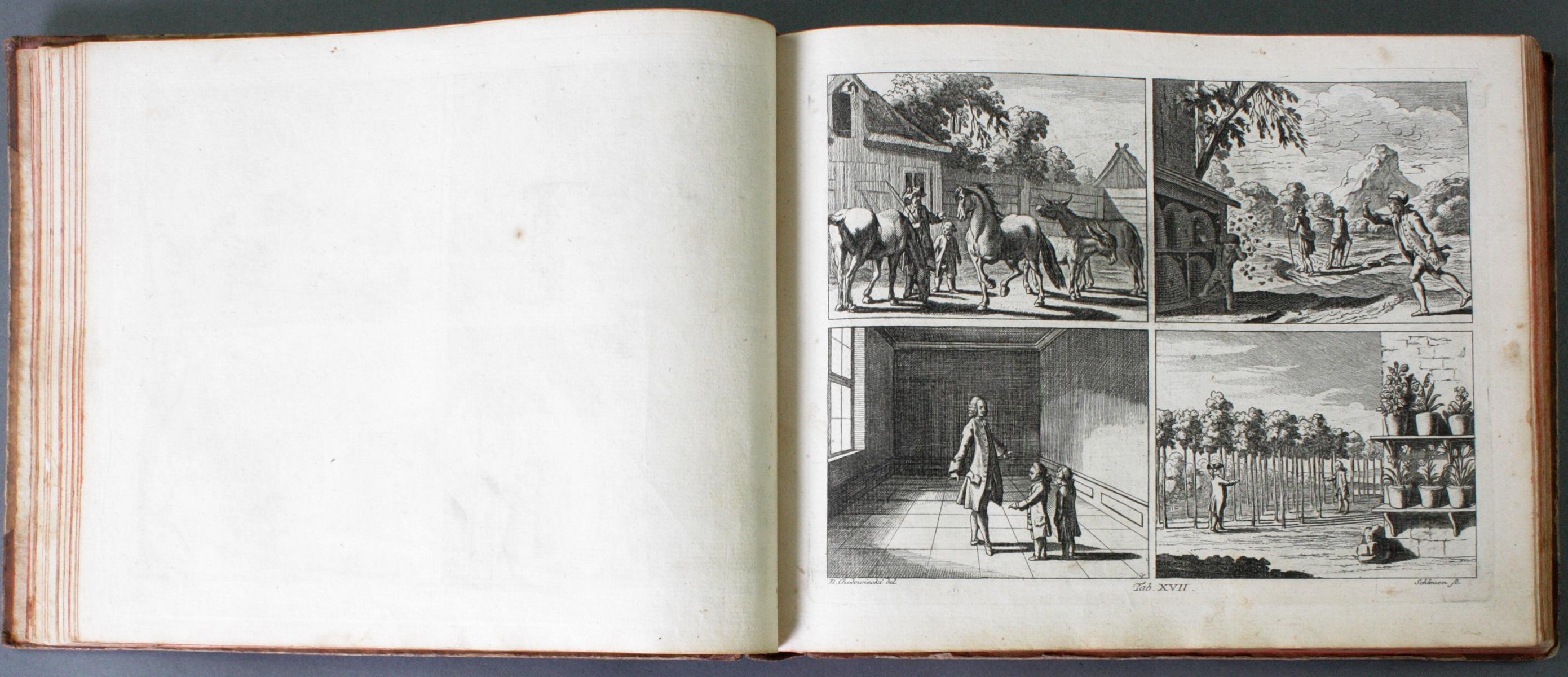 Johann Bernhard Basedow, Kupfersammlung zum Elementarwerk, 1774-6