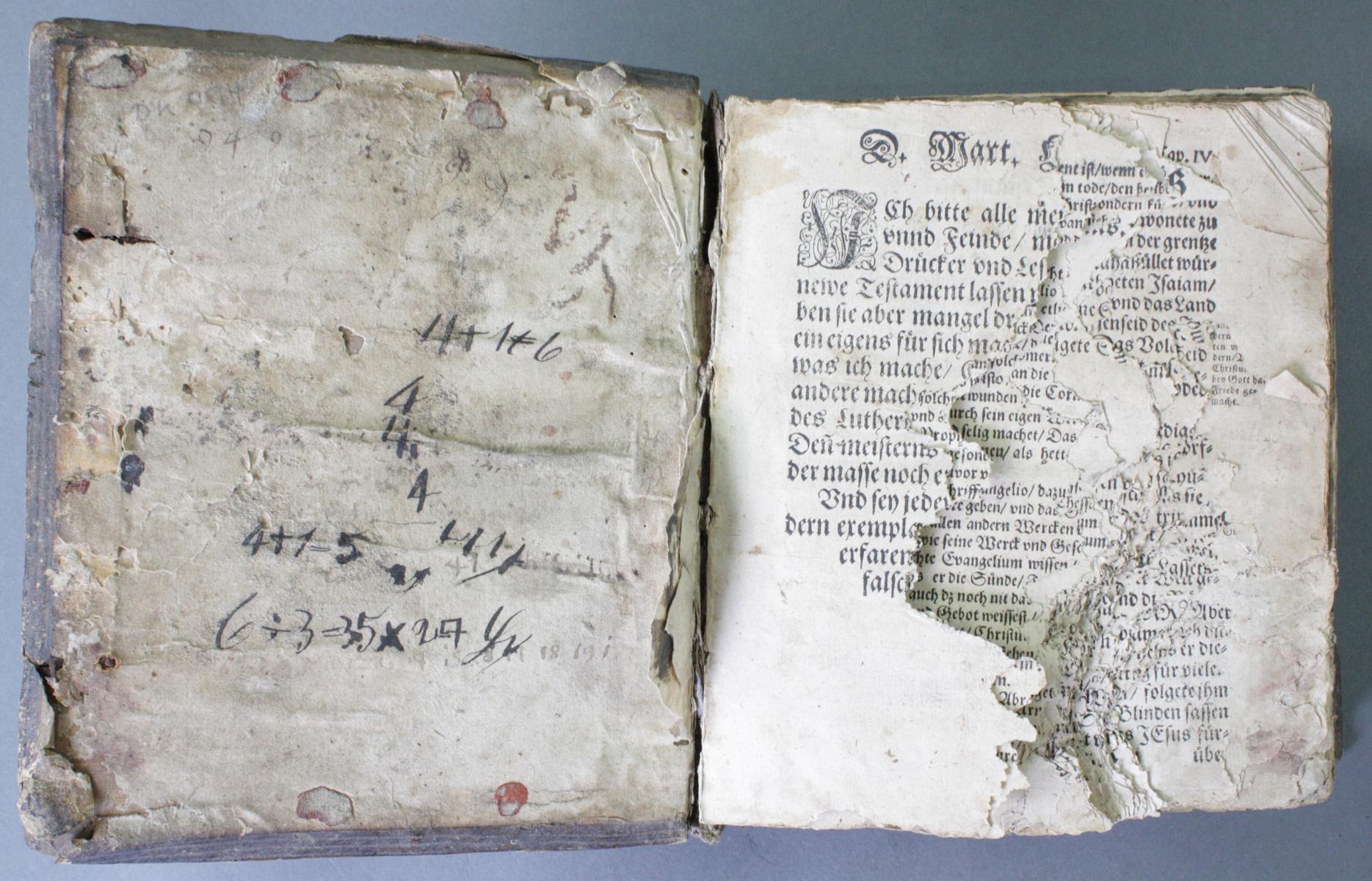 2 Bibeln 17. und 19. Jahrhundert-4
