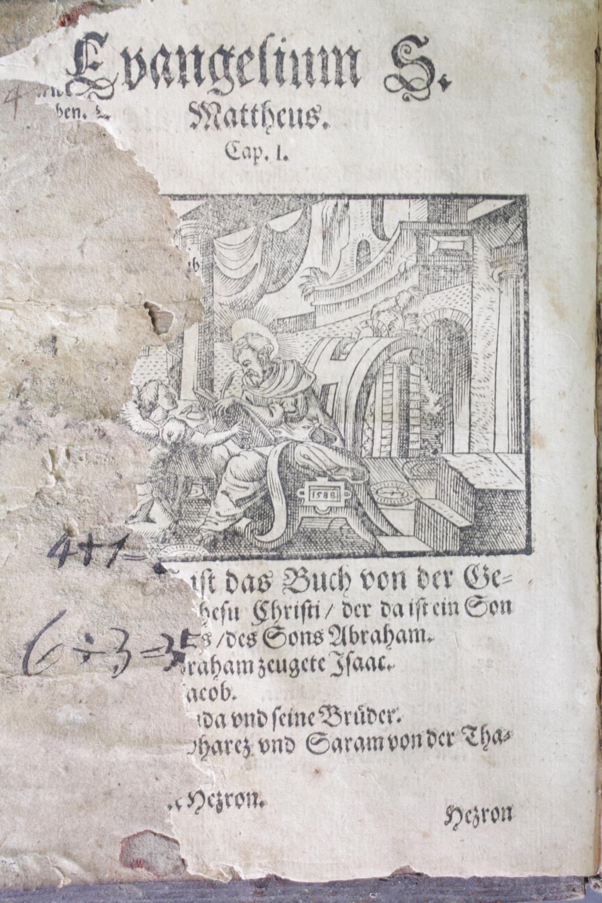 2 Bibeln 17. und 19. Jahrhundert-5